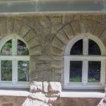 Fenster aus Holz Fenster nach Maß Einbruchsichere Holzfenster rund