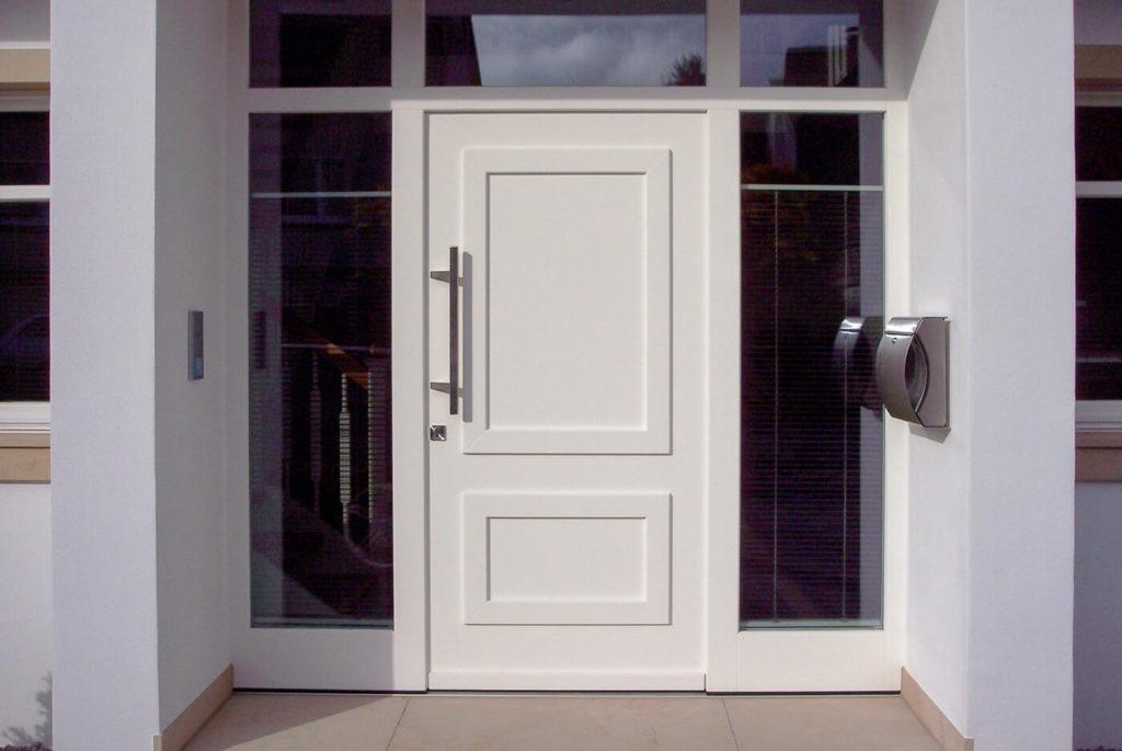 Haustür Holztür Tür aus Holz Haustüren Holz Eingangstür Holz Massive Holztüren Massivholztür Haustür Weiß