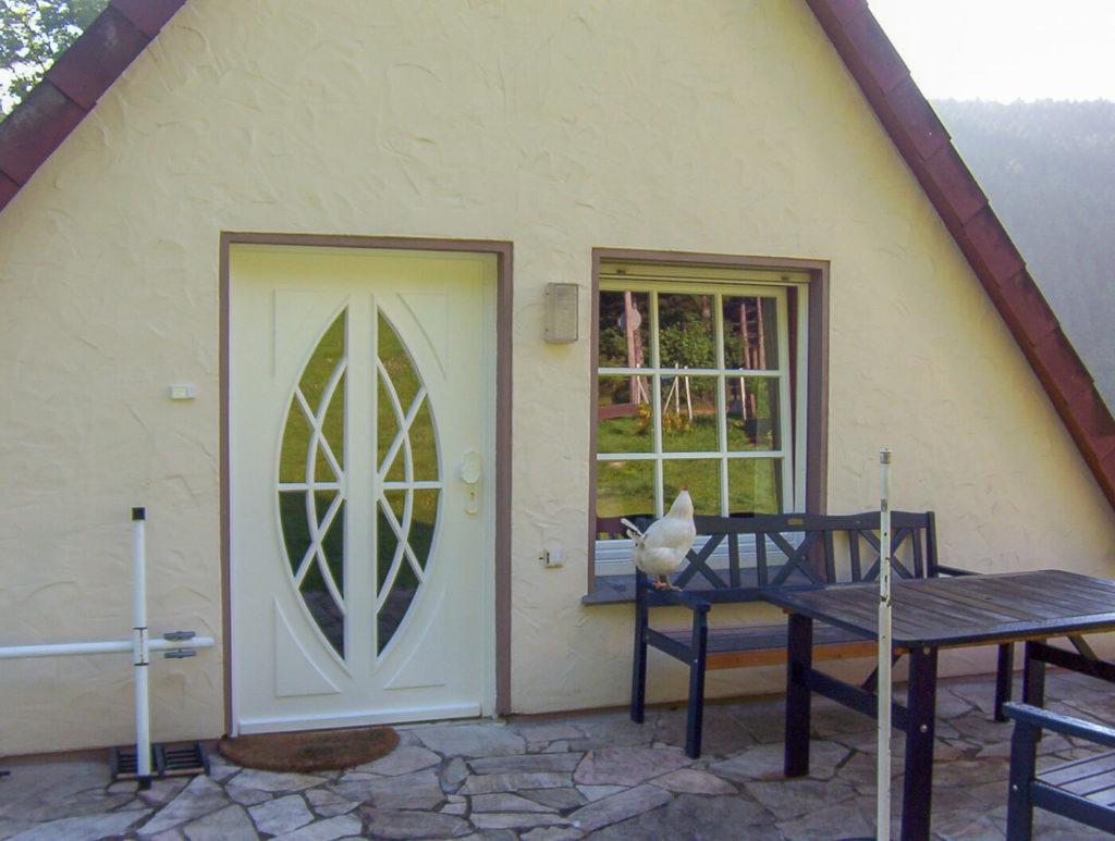 Haustür Holztür Tür aus Holz Haustüren Holz Eingangstür Holz Massive Holztüren Massivholztür Sprossen Haustür Weiß