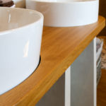 Badmöbel aus Holz Holzbadmöbel Badezimmermöbel Badmöbel Holzwaschtisch Waschtischplatte Holzmöbel Möbel aus Holz Möbel nach Maß Massivholzmöbel Massivholz Vollholzmöbel