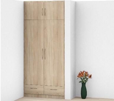 Visualisierung Garderobe in Meschede