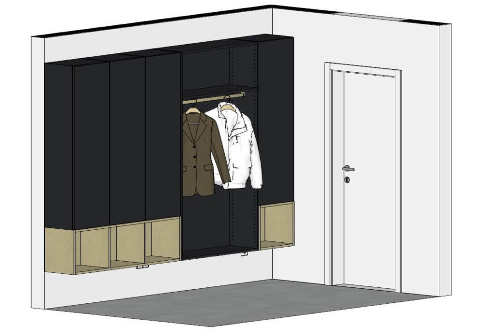 Garderobe 3